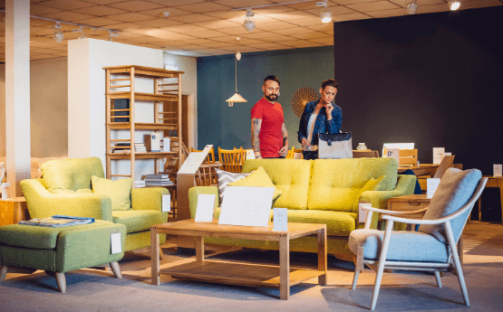 Marketing acquisition for the home furnishings sector